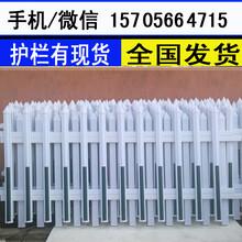 株洲株洲户外绿化带花坛PVC塑钢护栏价格行情图片