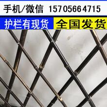 许昌市鄢陵县塑料栅栏围栏庭院白色花园围栏厂家供货图片