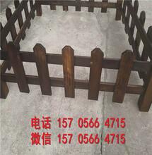 武汉青山pvc交通栏PVC花园护栏效率高的图片