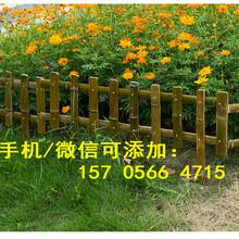 南昌青云谱户外绿化带花坛PVC塑钢护栏厂家供应图片