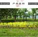 沁源縣鐵藝欄桿庭院籬笆柵欄小區草坪護欄