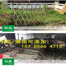 珠海金湾PVC塑钢加厚实心护栏围墙园艺草坪护栏量大送货图片
