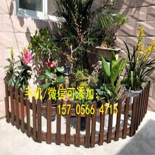 南昌青云谱pvc花园围栏pvc花园栅栏效率高的图片