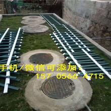 永州宁远PVC草坪护栏花园围栏栅栏货到付款图片