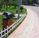 长乐市室外篱笆围墙草坪院子庭院装饰护栏碳化