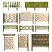 江干區庭院圍墻PVC柵欄塑鋼變壓器護欄