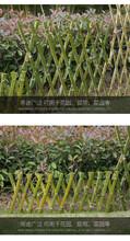 永州江华伸缩木拉网围栏草坪护栏花坛绿化栅栏市场走向图片