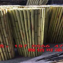 开封县防腐竹篱笆园艺拉网竹栅栏的用途图片