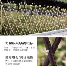 川汇区户外防腐木花园木栅栏围栏图片
