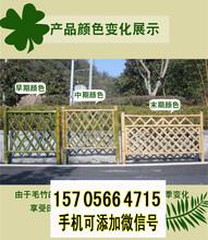 兴宁竹篱笆防腐木木栅栏竹子护栏厂家图片