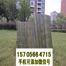 竹篱笆伸缩竹篱笆木栅栏花园塑料围栏竹护栏竹栅栏供应图片