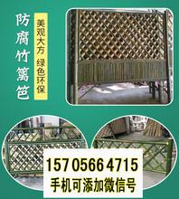 岱山竹篱笆竹板条花园栅栏竹子护栏价格厂家图片