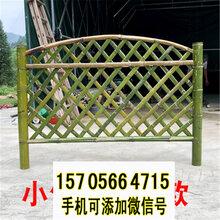 长安镇竹篱笆新农村护栏碳化竹围栏竹子护栏价格定制定做图片