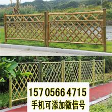 汕尾陆河竹篱笆碳化竹护栏PVC护栏pvc护栏价格图片