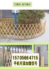 左云竹篱笆防腐木护栏圃竹篱笆竹子护栏电话咨询图片