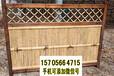 漳州诏安县竹篱笆pvc护栏竹栅栏价格很关键哦(中闻资讯)