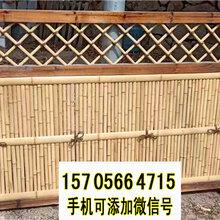 周口太康县竹栅栏竹护栏草坪护栏围栏栅栏(中闻资讯)图片