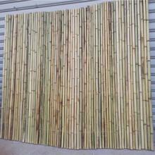 邯郸磁县竹篱笆花园围栏竹子护栏pvc护栏工程设计图片