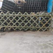 濠江区竹篱笆篱笆围栏草坪护栏竹子护栏大量现货图片