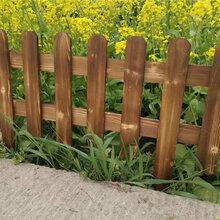 相城区竹篱笆护栏花园竹栅栏塑钢护栏价格低图片