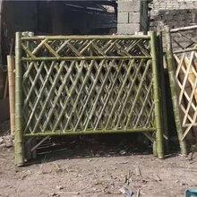 荆州江陵竹篱笆仿竹篱笆pvc护栏pvc护栏免费定做图片