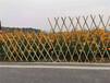 顺昌竹篱笆防腐木栏杆伸缩碳化木护栏塑钢护栏2020年厂家供应