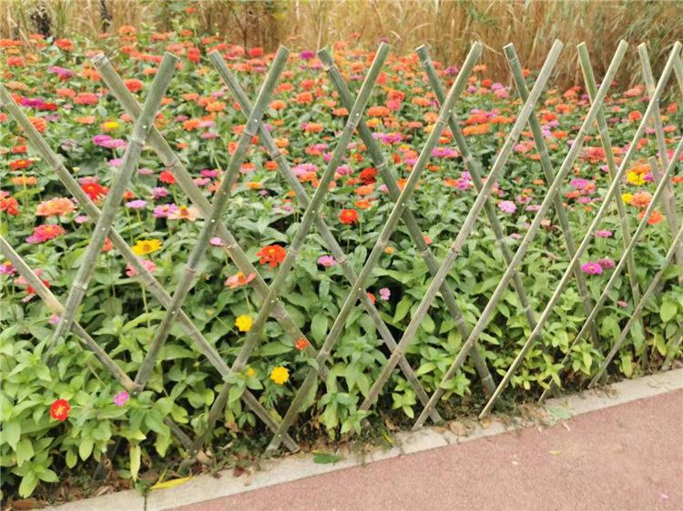 吉利竹篱笆室外花园塑钢护栏塑钢护栏百度爱采购