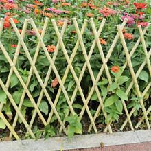 十堰茅箭区竹篱笆碳化竹护栏防腐竹栅栏pvc护栏及价格优惠图片