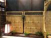 竹篱笆塑钢围栏电梯门竹护栏竹栅栏当天发货