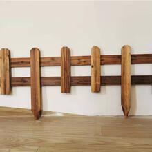 宣城绩溪竹篱笆碳化木护栏竹护栏pvc护栏欢迎前来咨询图片