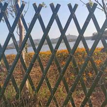 廊坊安次区竹篱笆竹片围栏竹篱笆园艺pvc护栏百度图片图片