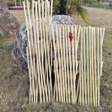 石家庄灵寿竹篱笆竹片围栏塑木栏杆pvc护栏百度图片图片