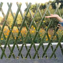 东莞东城区竹篱笆竹子护栏竹栅栏pvc护栏欢迎前来咨询图片