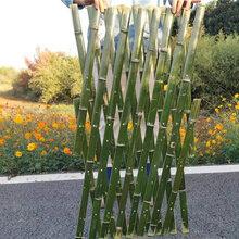 德兴竹篱笆农家小院防腐竹篱笆栅栏塑钢护栏百度图片图片