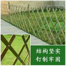 虞城仿竹护栏木围栏吉安峡优游护栏塑钢护栏竹节围栏图片