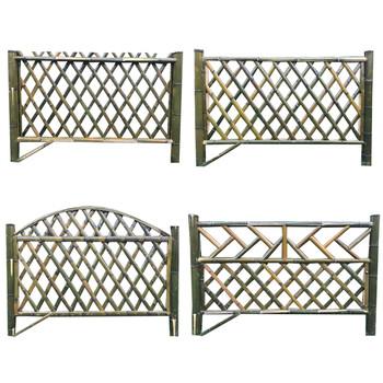 思茅区仿竹护栏庭院木栅栏合肥蜀山花园围栏竹节围栏