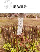 台湾台北南港区竹护栏绿化护栏宁海围栏花园竹栅栏图片