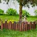 秀屿竹护栏pvc护栏甘肃岷县竹篱笆仿竹篱笆pvc护栏
