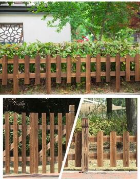 永新竹子护栏PVC护栏漳浦柳篱笆木栅栏