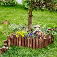 东森游戏主管桂林雁山区竹护栏花园栅栏来安棕色防腐木竹栅栏图片