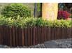 寶應縣竹籬笆河道欄桿碳化防腐木竹護欄批發