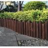 木栅栏 竹篱笆