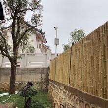 萍乡竹护栏塑料篱笆珠海斗门碳化木栅栏竹栅栏图片