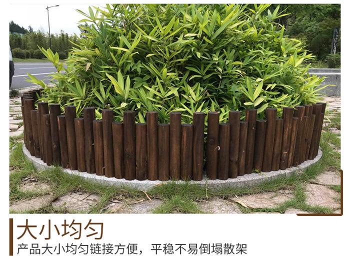 天长市竹护栏竹篱笆湖南天心pvc护栏仿竹篱笆竹篱笆