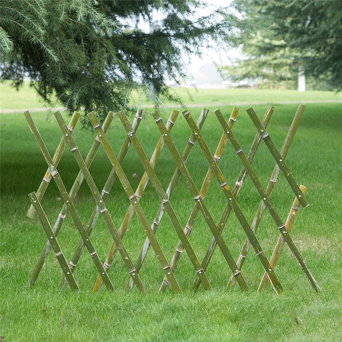 泉州洛江區 竹籬笆竹籬笆圍場pvc柵欄仿竹護欄竹籬笆