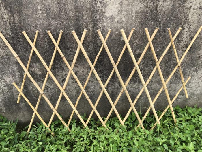 社旗县 竹护栏绿化护栏湖北五峰新农村护栏仿竹篱笆绿化护栏