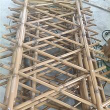 瀍河仿竹护栏别墅阳台南平政和栅栏户外竹节围栏图片