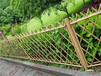 松陽仿竹護欄草坪護欄漳州華安竹節圍欄仿竹籬笆草坪護欄