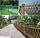 武义县竹护栏塑钢护栏吉林图们防腐竹篱笆仿竹篱笆塑钢护栏