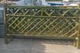 黃岡羅田竹籬笆塑鋼護欄武漢江夏碳化防腐木竹子護欄塑鋼護欄